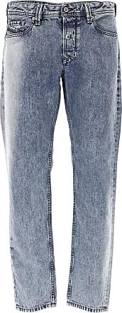 Diesel Jeans, Bluejeans, Denim Jeans für Herren Günstig im Outlet Sale, Larkee Beex, Blau, Baumwolle, 2019, 45 46 48 50