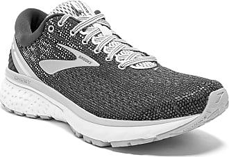 Brooks Womens Ghost 11 Running Shoes, Grey (Ebony/Grey/Silver 003), 9 UK