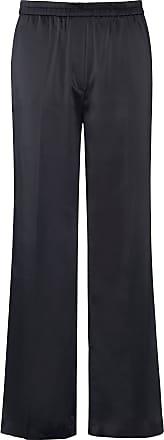 Emilia Lay Satin trousers wide leg Emilia Lay black
