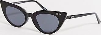 Quay Quay - Schwarze Katzenaugen-Sonnenbrille