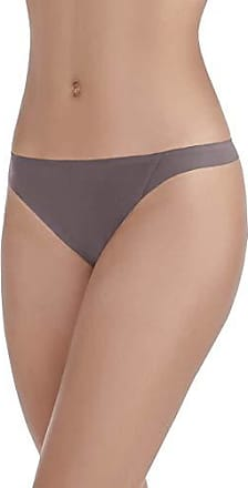Vanity Fair Womens Underwear Nearly Invisible Panty, Deep Mauve - Thong, 2X-Large/9