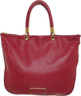 Marc Jacobs gebraucht - Marc Jacobs-Handtasche aus Leder in Rot - Damen - Leder
