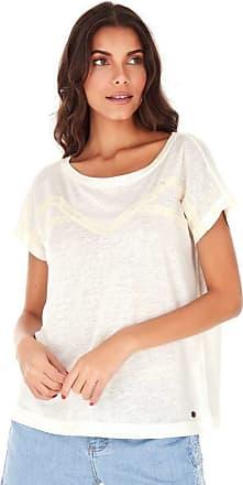 SideWalk Camiseta Agata - Off White - Tamanho P