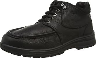 Padders Mens Crest Oxfords, Black (Black), 8 UK 42 EU