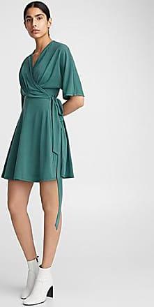 Icone Pleated wrap dress