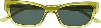 Han Kjobenhavn Armação de óculos retangular transparente - Verde