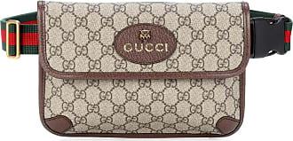 Gucci Gürteltasche mit Lederbesatz