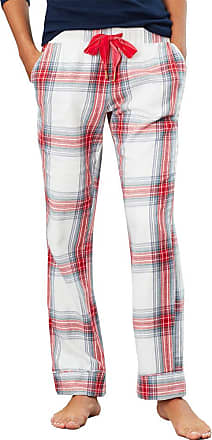 Joules Snooze Woven Bottoms Womens Pyjamas UK 8 Reg Cream Check