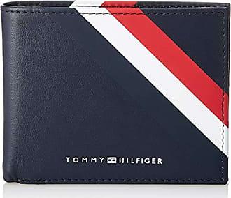 86b5781ad Tommy Hilfiger Bold Corporate - Tarjetero Hombre, Azul, 2 x 8.7 x 11 cm