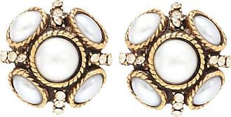 Oscar De La Renta Rope embellished earrings