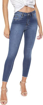 Lança Perfume Calça Jeans Lança Perfume Skinny Cropped Lisa Azul