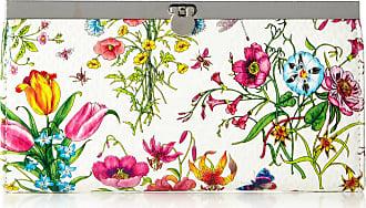 Swankyswans Womens Vintage Floral Print Wallet In White 3U-5Z8F-PJ25 Small