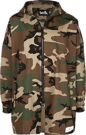 Haculla camouflage hooded jacket - Green