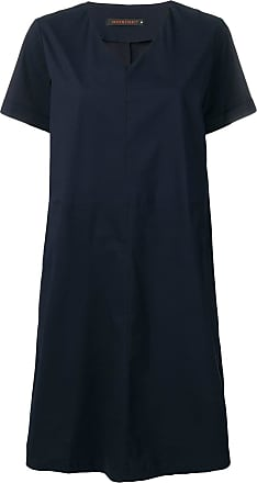 Incentive! Cashmere oversized v-neck dress - Azul