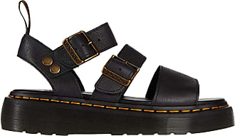 Dr. Martens Women Sandals and Slippers for Women Gryphon Quad Black 5.5 UK