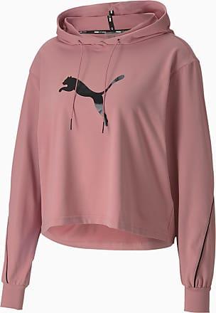 Puma Pearl Long Sleeve Womens Training Hoodie, Foxglove, size X Large, Clothing