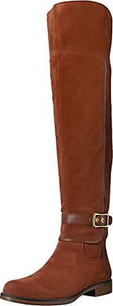 Franco Sarto Womens Crimson Over the Knee Boot, Dark Mahogany, 6 M US