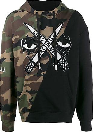 Haculla printed cotton hoodie - Black