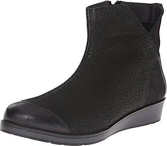 Naot Womens Loyal Ankle Bootie, Black, 36 EU/5 M US