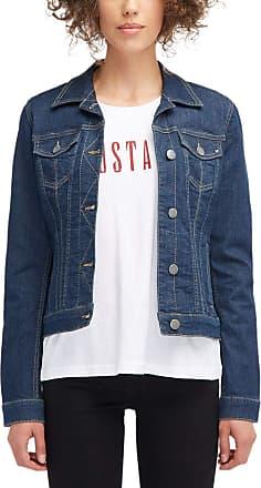 Mustang Womens Iconic DNM Jacket Denim, 92 Blue, XS