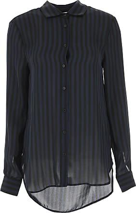 Silvian Heach Hemde für Damen, Oberhemd Günstig im Sale, Blau, Polyester,  2017 79f88a89b5