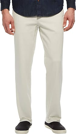 Nautica Mens Classic Fit Flat Front Stretch Solid Chino Deck Pant Business Casual Stone, 34W x 30L