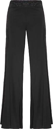 Animale Calça Pantalona Glitter - Preto