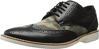 Stacy Adams Stacy Adams Mens Sweeney Oxford, Black Olive Camouflage Suede, 8 M US