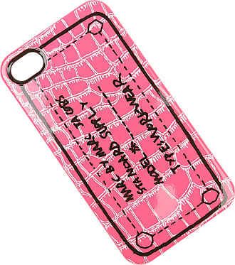 Marc Jacobs iPhone Cases On Sale in Outlet, Fluo Pink, plastic, 2017, One size