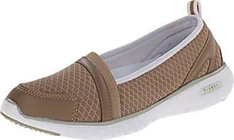 Propét Propet Womens Travellite SN Walking Shoe, Taupe, 6 N US