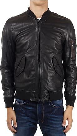 Diesel L-Devra Padded Leather Jacket size Xxl