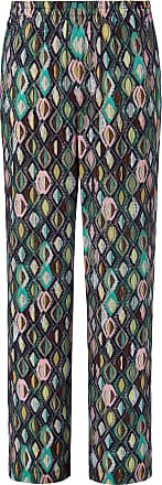 Anna Aura Summer trousers graphic diamond print Anna Aura multicoloured