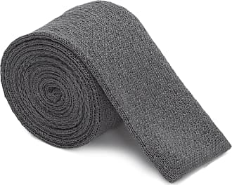 HUGO BOSS GRAVATA TIE KNITTED - CINZA
