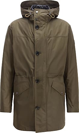 BOSS Three-in-one water-repellent parka with taped seams
