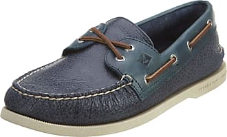 Sperry Top-Sider Mens A/O 2-Eye Cross Lace A/O 2-Eye Cross Lace Blue Size: 7.5 UK