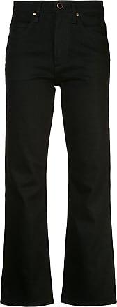 Khaite Calça jeans flare - Preto
