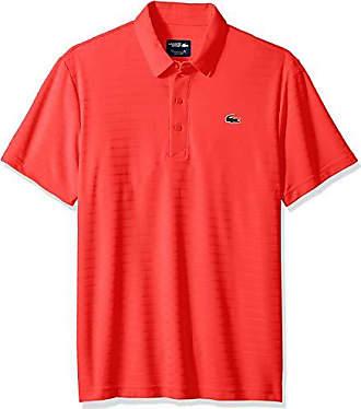 48653ef9b Lacoste Mens Sport Short Sleeve Golf Ultra Dry TECH Jersey Polo