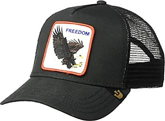 Goorin Brothers Mens Animal Farm Snap Back Trucker Hat, Black Eagle, One Size