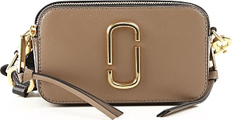 Marc Jacobs Shoulder Bag for Women, French Grey, Leather, 2017, one size
