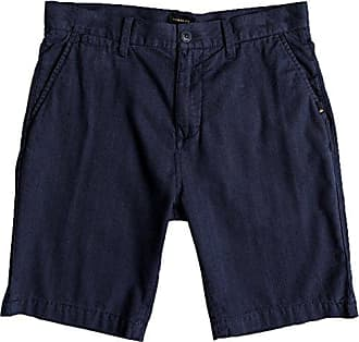 Quiksilver Mens Krandy Oxford Walk Short, Blue Nights, 34