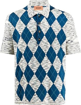 Missoni Camisa polo com padronagem argyle - Neutro