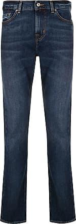 7 For All Mankind Calça jeans skinny cintura média - Azul