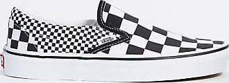 Vans UA Classic - Instapsneakers met zwart en witte ruit-Multi