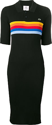 Lacoste L!ve midi shirt dress - Black