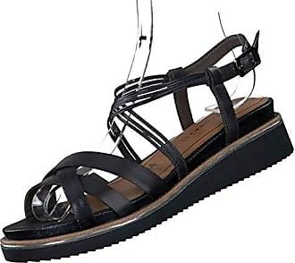 Tamaris Schuhe 1 1 28114 28 Bequeme Damen Sandalette, Sandalen, Sommerschuhe für modebewusste Frau, Trend