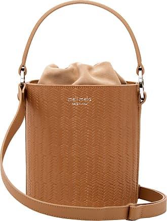 Meli Melo Meli Melo Santina Light Tan Woven Bucket Bag for Women
