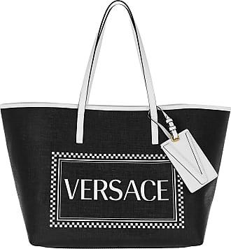 7101e30542 Versace Logo Tote Nero/Bianco/Oro Shopper schwarz