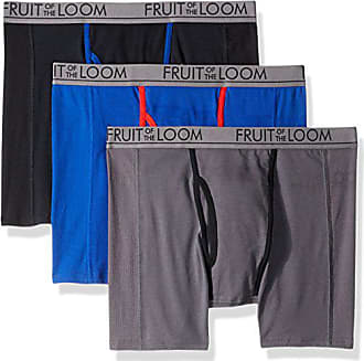 0a20d258 Fruit Of The Loom Mens 3pk Ultra Flex Boxer Brief, Assorted, Large