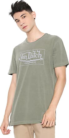 Von Dutch Camiseta Von Dutch Signature Verde