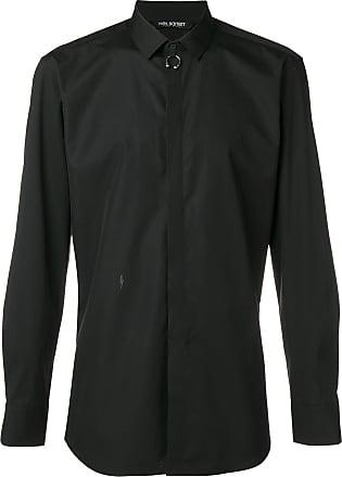 Neil Barrett Camisa com detalhe de piercing - Preto